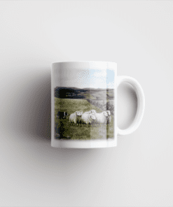 Country Images Personalised Printed Highland Collection Sheep Scotland Design Cheap Mug - 2