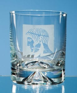 Personalised Engraved Dimple Whisky Tumbler Glass Crystal Scotland UK