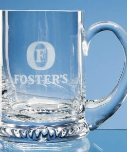 Engraved Straight Sided Tankard