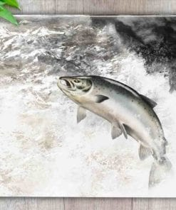 Highland Collection - Worktop Saver (Leaping Salmon) Personalised Gift