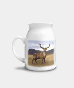 Country Images Personalised Highland Collection Printed Custom Milk Jug Stag Wildlife Scotland 4