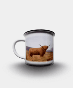 Country Images Personalised Custom Printed White Black Mug Scotland Cheap Highland Collection Highland Cow Hairy Coo Wildlife Gift Gifts 2