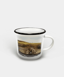 Country Images Personalised Custom Printed White Black Mug Scotland Cheap Highland Collection Otter Otters Wildlife Gift Gifts