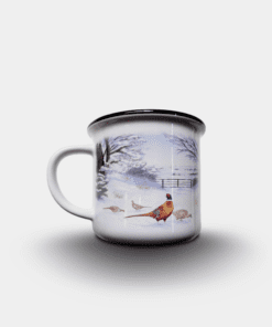 Country Images Personalised Custom Printed White Black Mug Scotland Cheap Highland Collection Pheasant Pheasants Birds Wildlife Gift Gifts 2