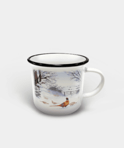 Country Images Personalised Custom Printed White Black Mug Scotland Cheap Highland Collection Pheasant Pheasants Birds Wildlife Gift Gifts