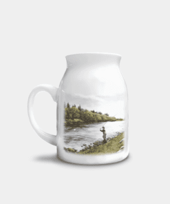 Country Images Personalised Printed Custom Milk Jug Fly Fishing Angling Angler Gifts Sporting 1
