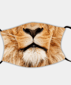 Country Images Personalised Custom Face Mask Masks Facemask Facemasks UK Scotland Gifts Lion