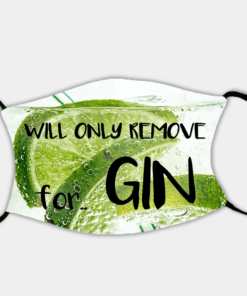 Country Images Personalised Custom Face Mask Masks Facemask Facemasks UK Scotland Gifts Remove for Gin