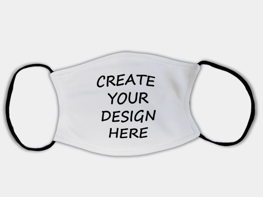Country Images Personalised Custom Face Mask Masks Facemask Facemasks UK Scotland Gifts Wording