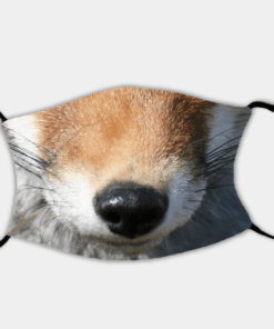 Country Images Personalised Custom Face Mask Masks Facemask Facemasks UK Scotland Gifts Feeling Foxy Fox