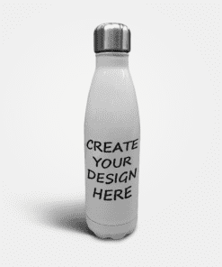 Country Images Personalised Metal Skittle Screw Top Water Bottle Create Your Own Gift